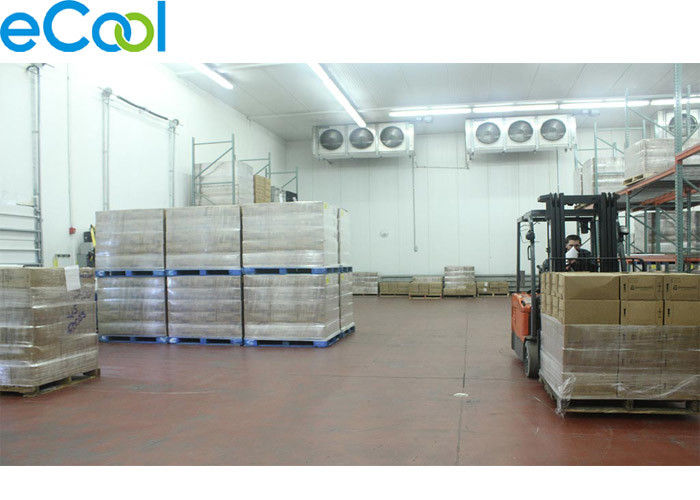 PU Board Custom Cold Storage For Leasing , Cold Storage Refrigeration With Freon System